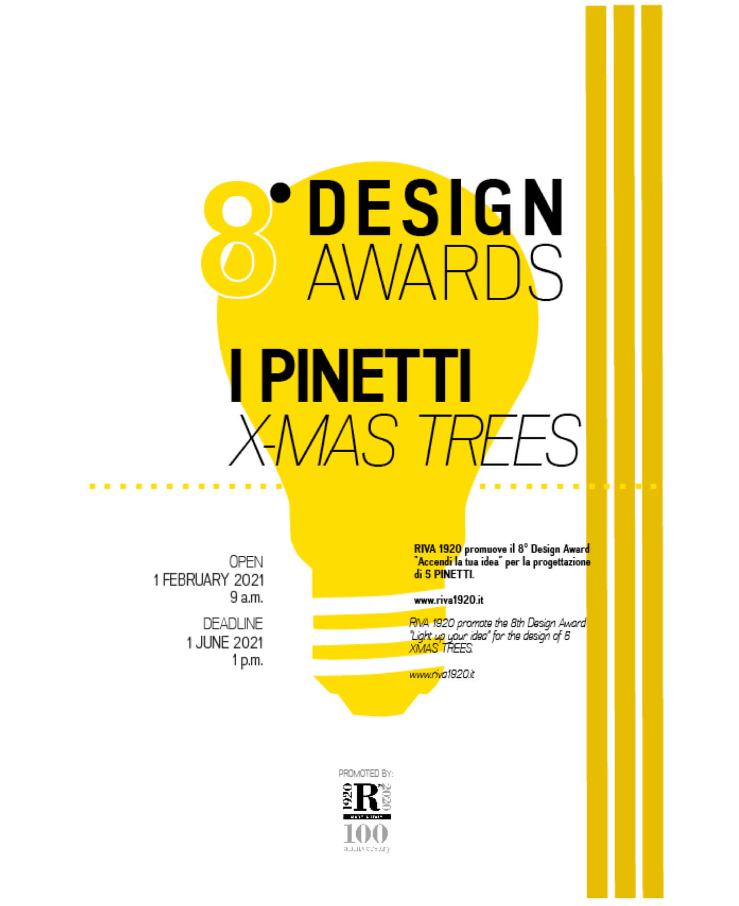 "8° Design Award ""I Pinetti"""